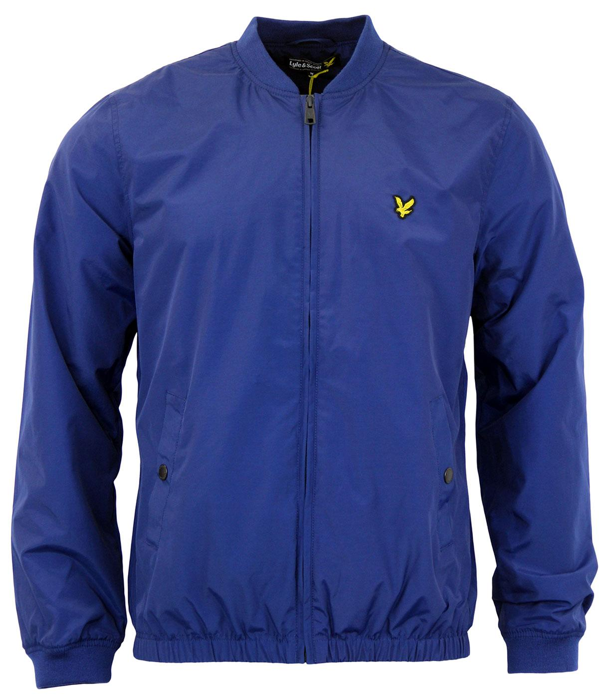 LYLE & SCOTT Retro Mod Lightweight Bomber Jacket