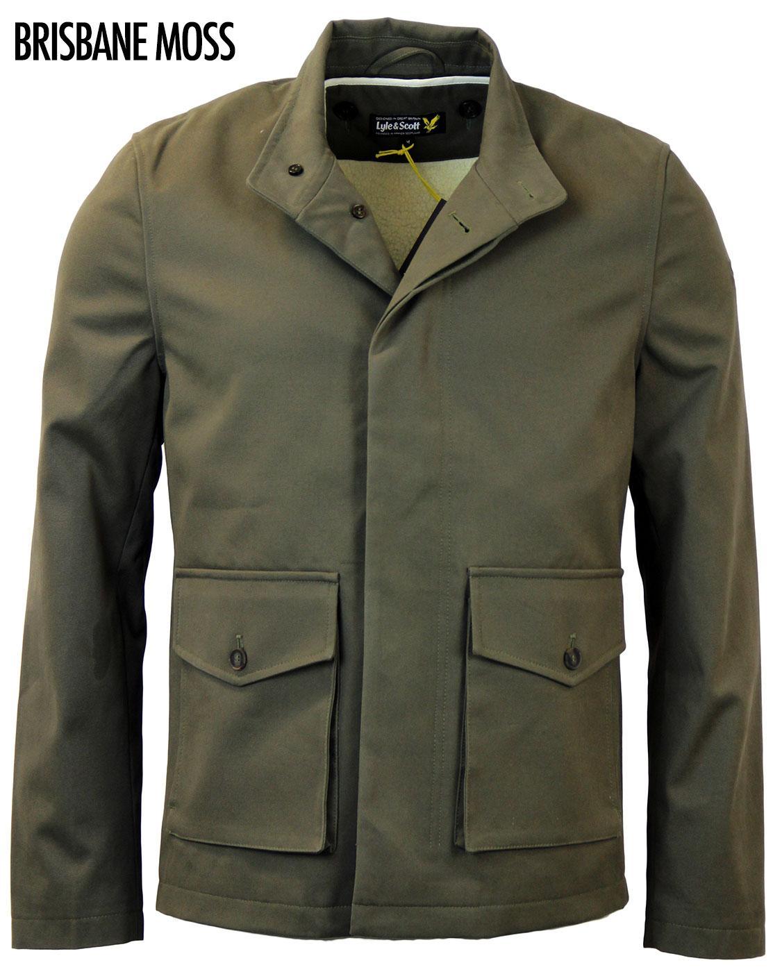 LYLE & SCOTT Brisbane Moss Shearling Lined Jacket