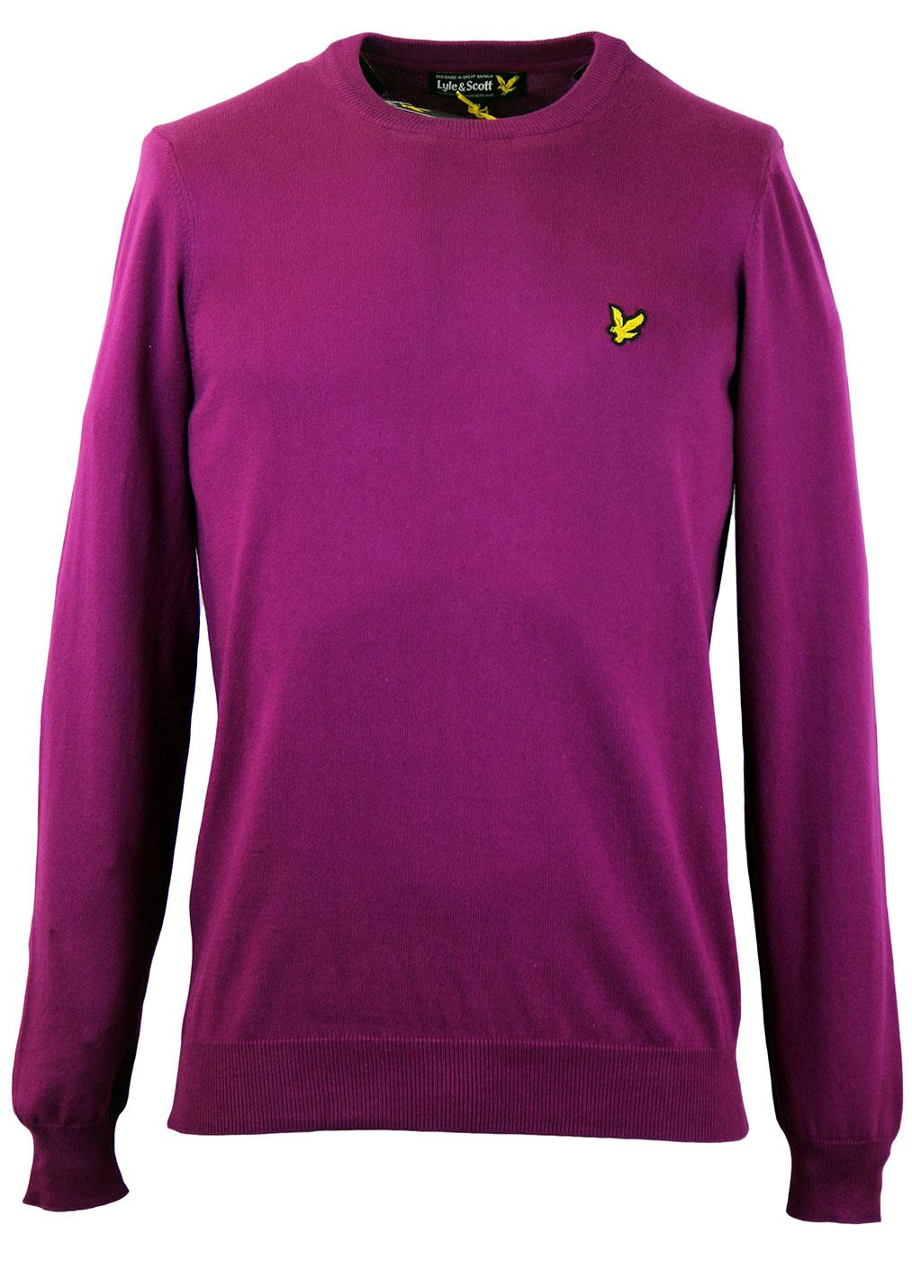 LYLE & SCOTT Retro Mod Cotton Crew Neck Jumper BC