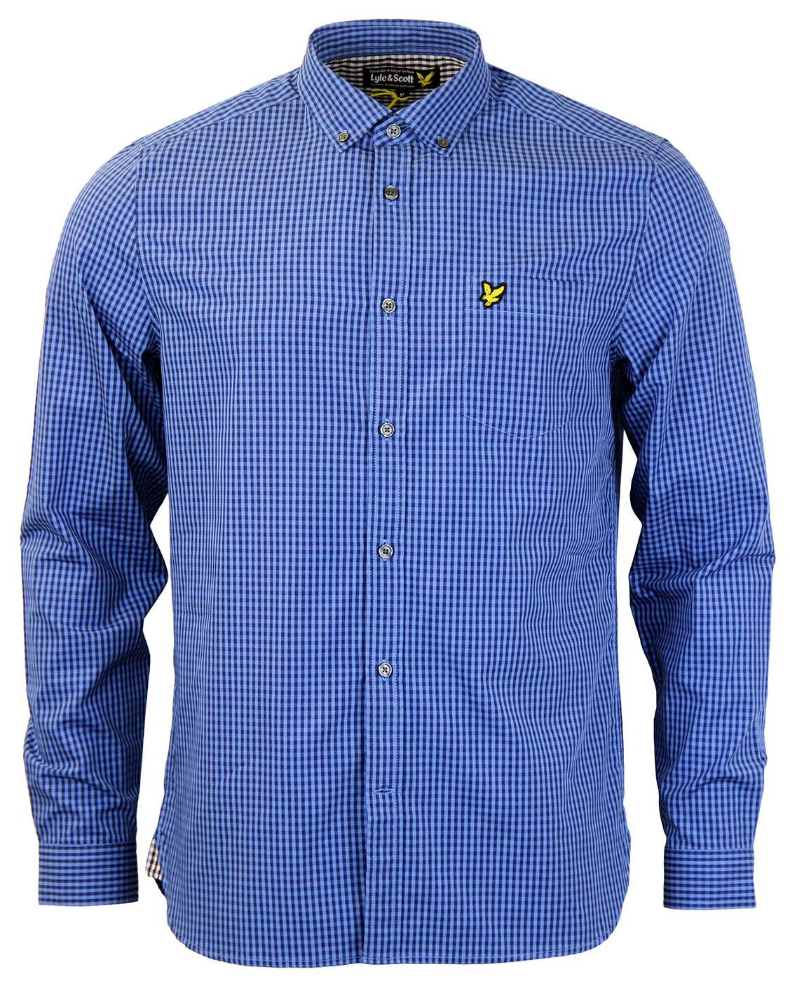 Gingham LYLE AND SCOTT Check Button Down Shirt