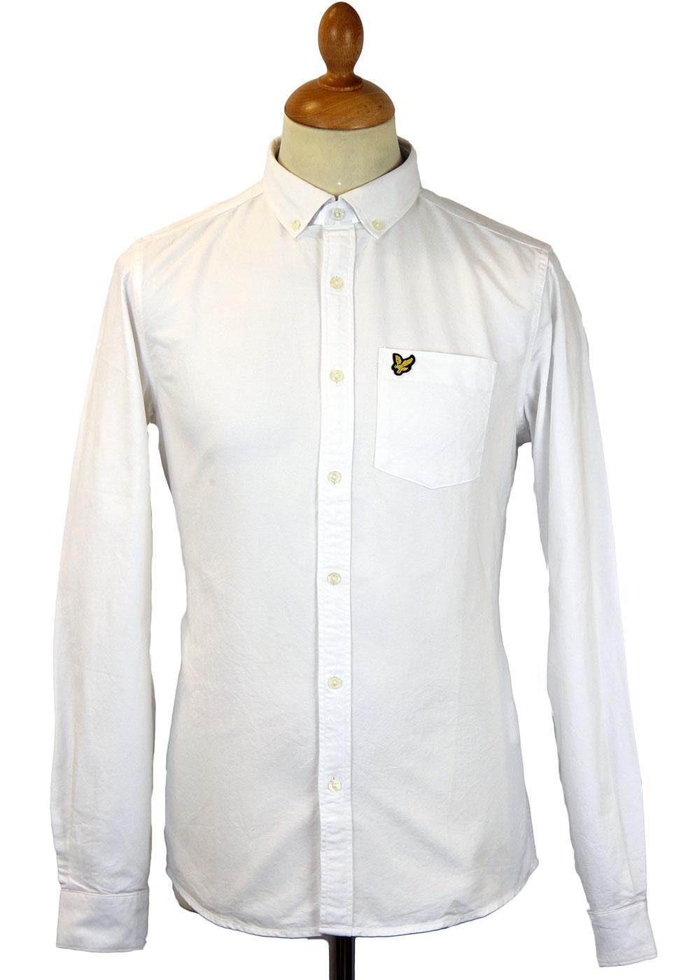 LYLE & SCOTT Retro Mod Button Down Oxford Shirt W