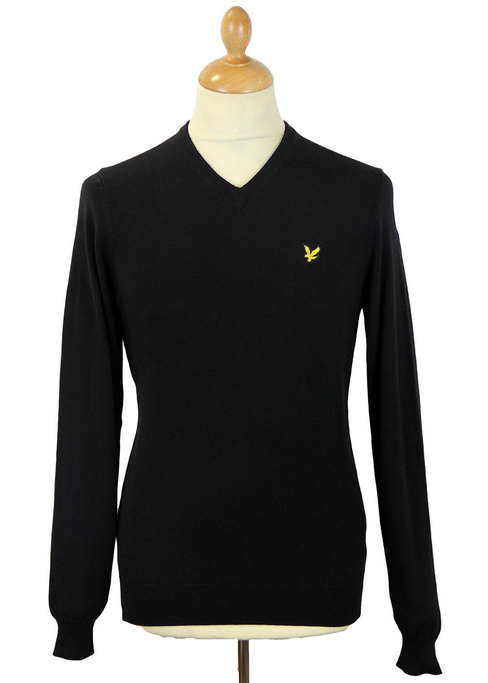 LYLE & SCOTT Cotton Golden Eagle V-Neck Jumper TB