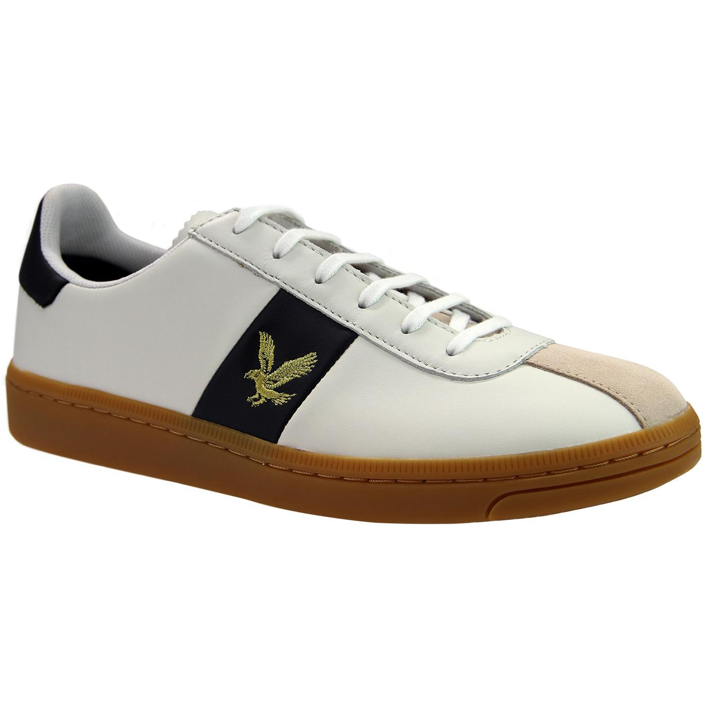 Campbell LYLE & SCOTT Men's Leather Trainers (WN)