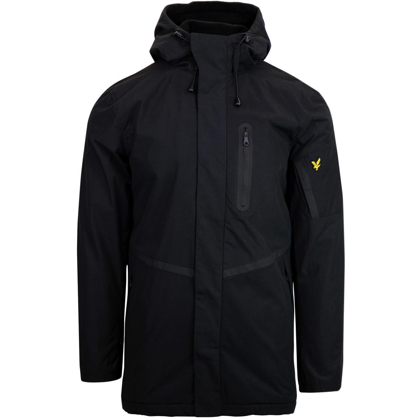 LYLE & SCOTT Mod Fleece Lined Casual Parka Jacket