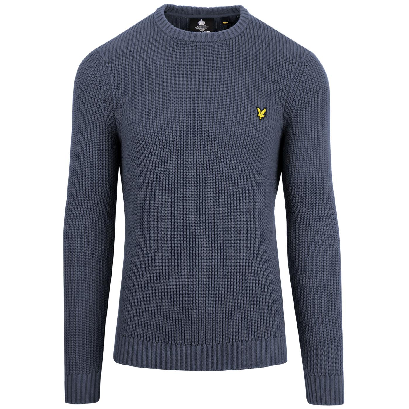 LYLE & SCOTT Retro Knitted Fisherman Rib Jumper