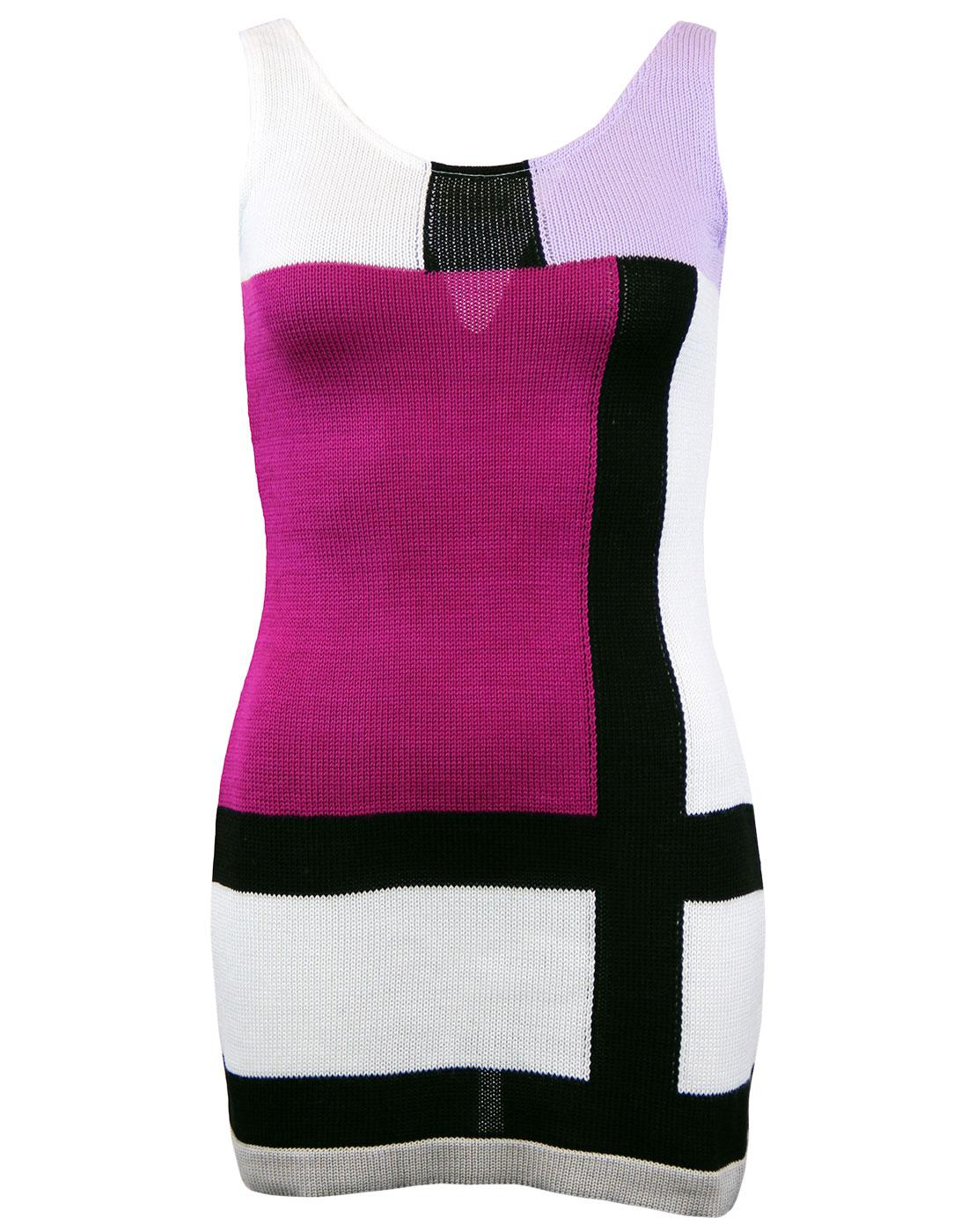 'The Buzz' - Retro Mod Sixties Dress by MADCAP (M)