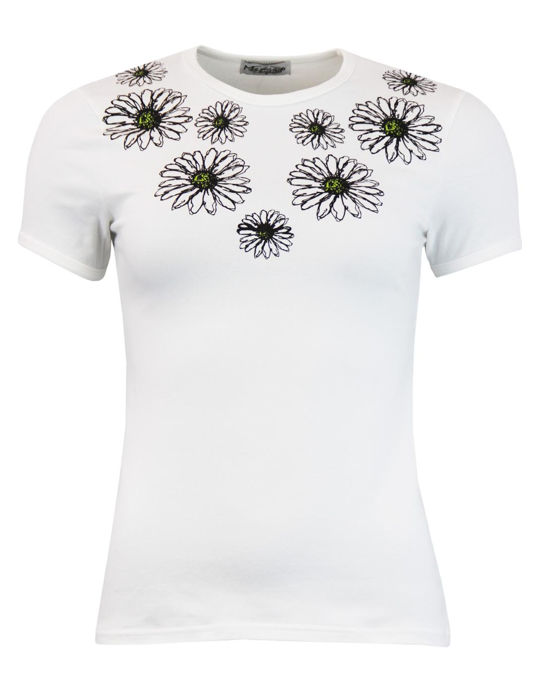 madcap daisy tee white mod