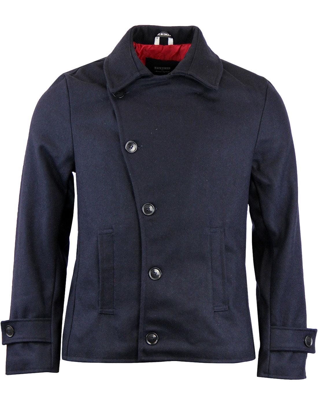 Denny MADCAP ENGLAND 60s Mod Short Reefer Jacket N