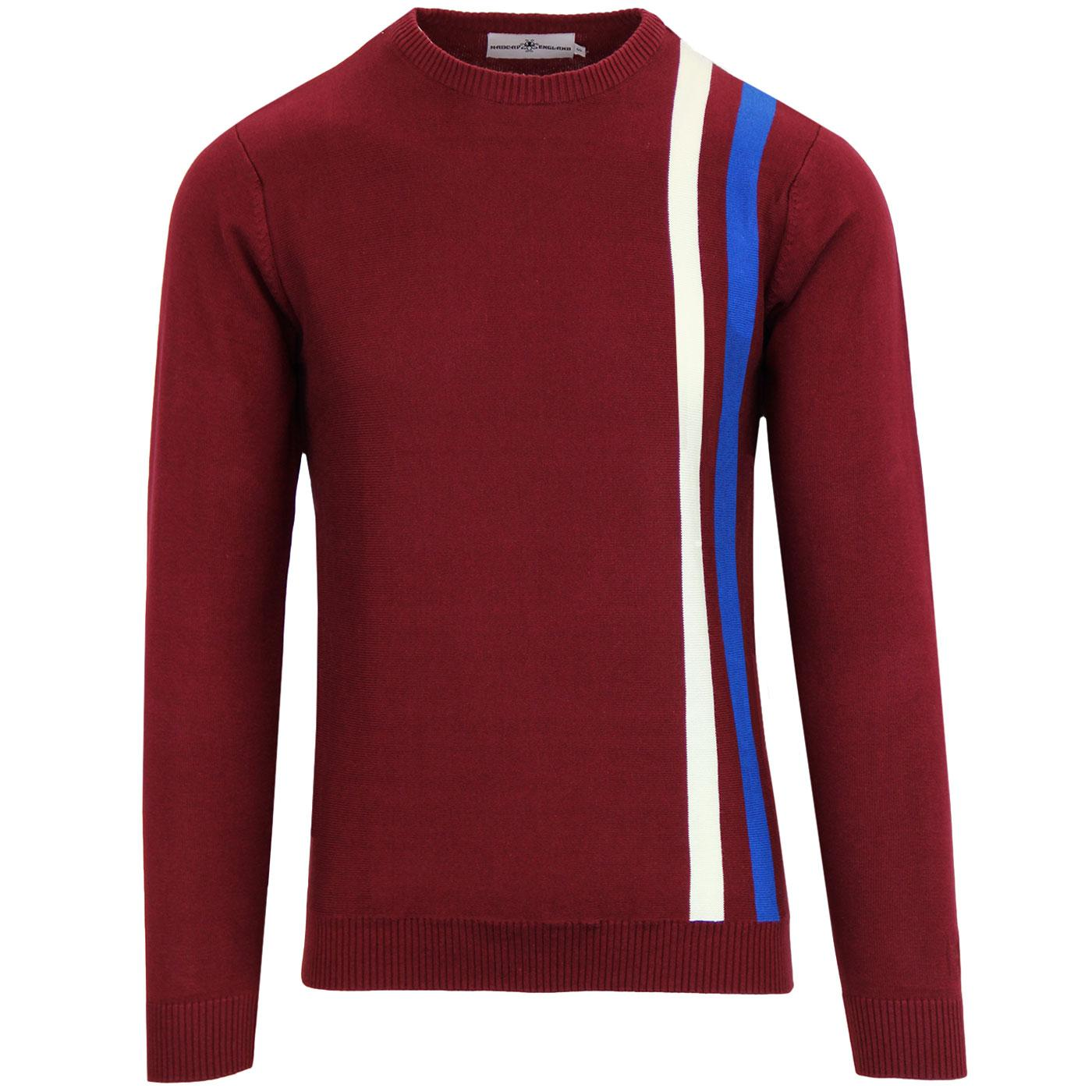 Attack MADCAP ENGLAND 1960s Mod Racing Jumper (Z)