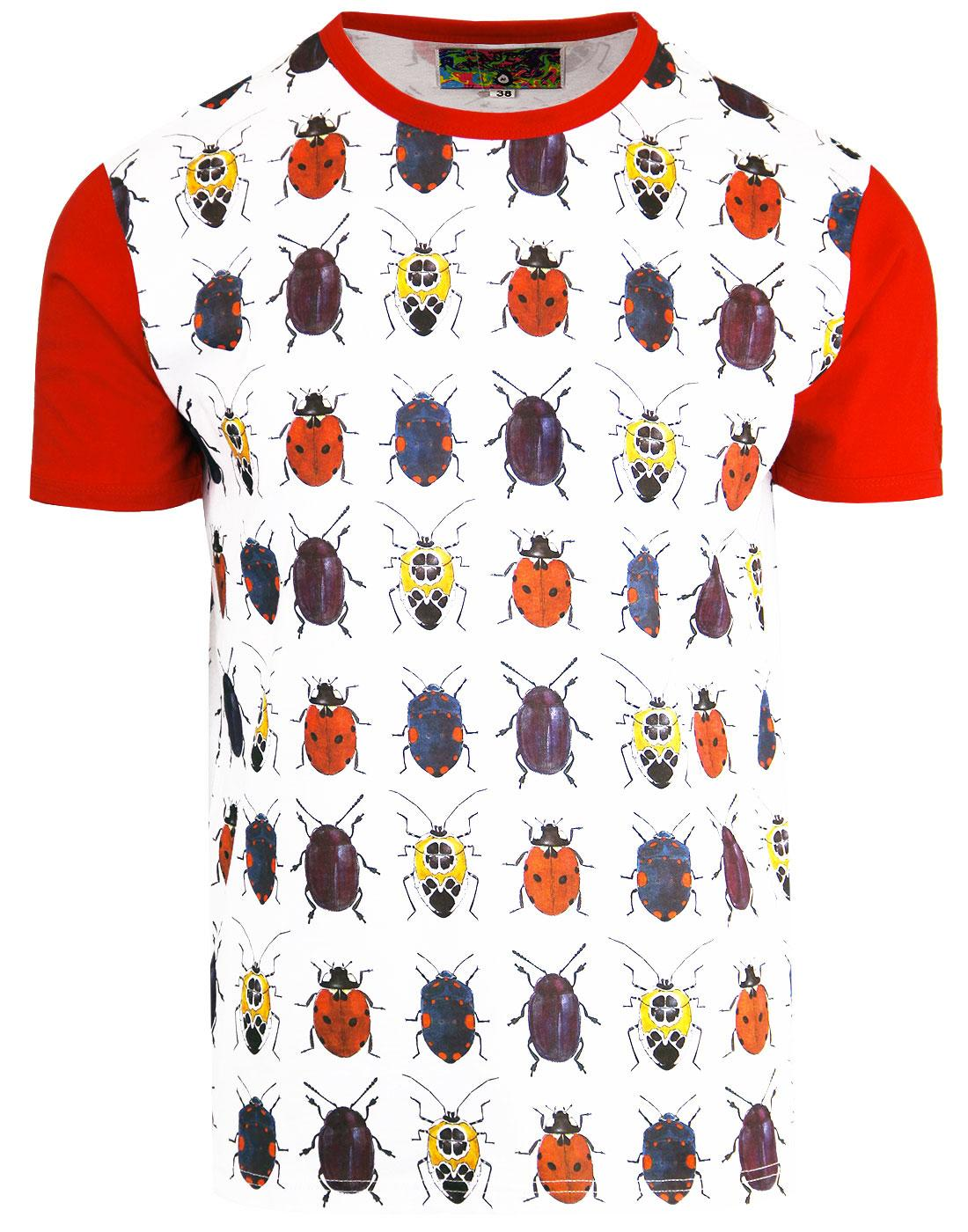 madcap england beetlebum mens retro beetle tshirt