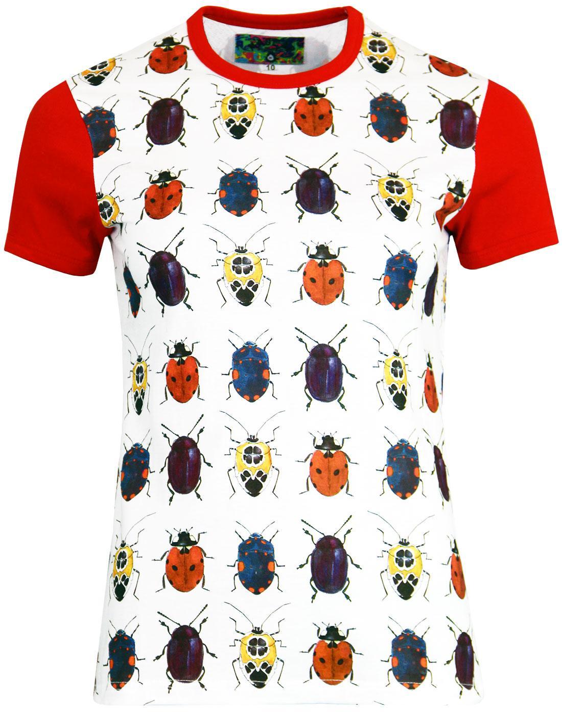 madcap england beetlebum womens retro beetle tee