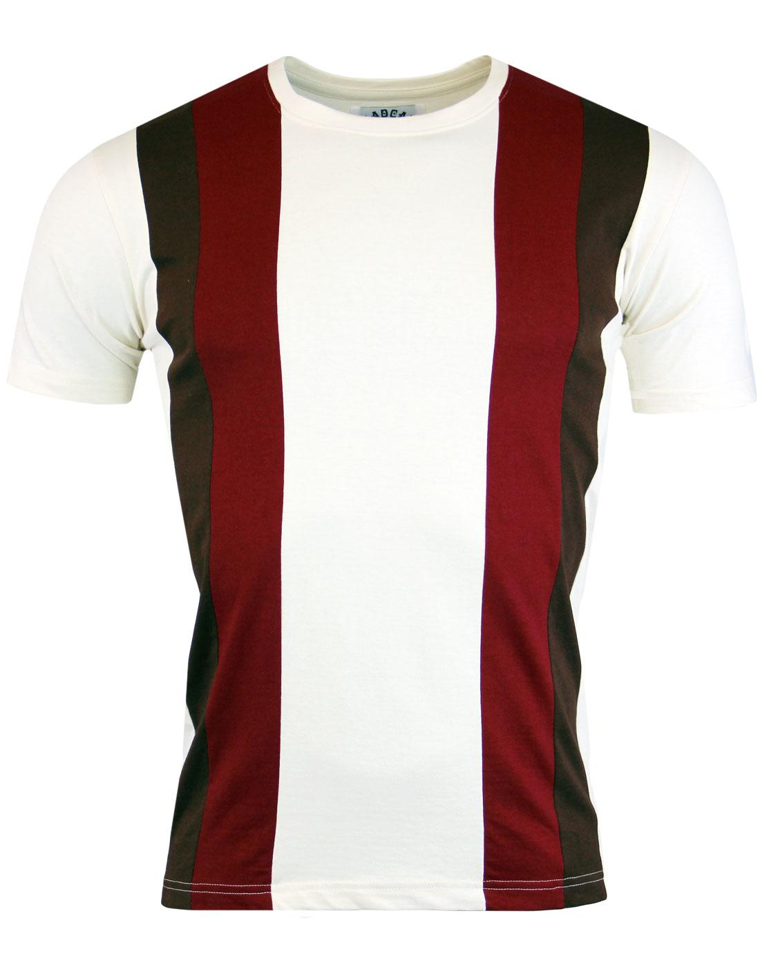 Afterglow MADCAP ENGLAND Mod Stripe Panel Tee (C)