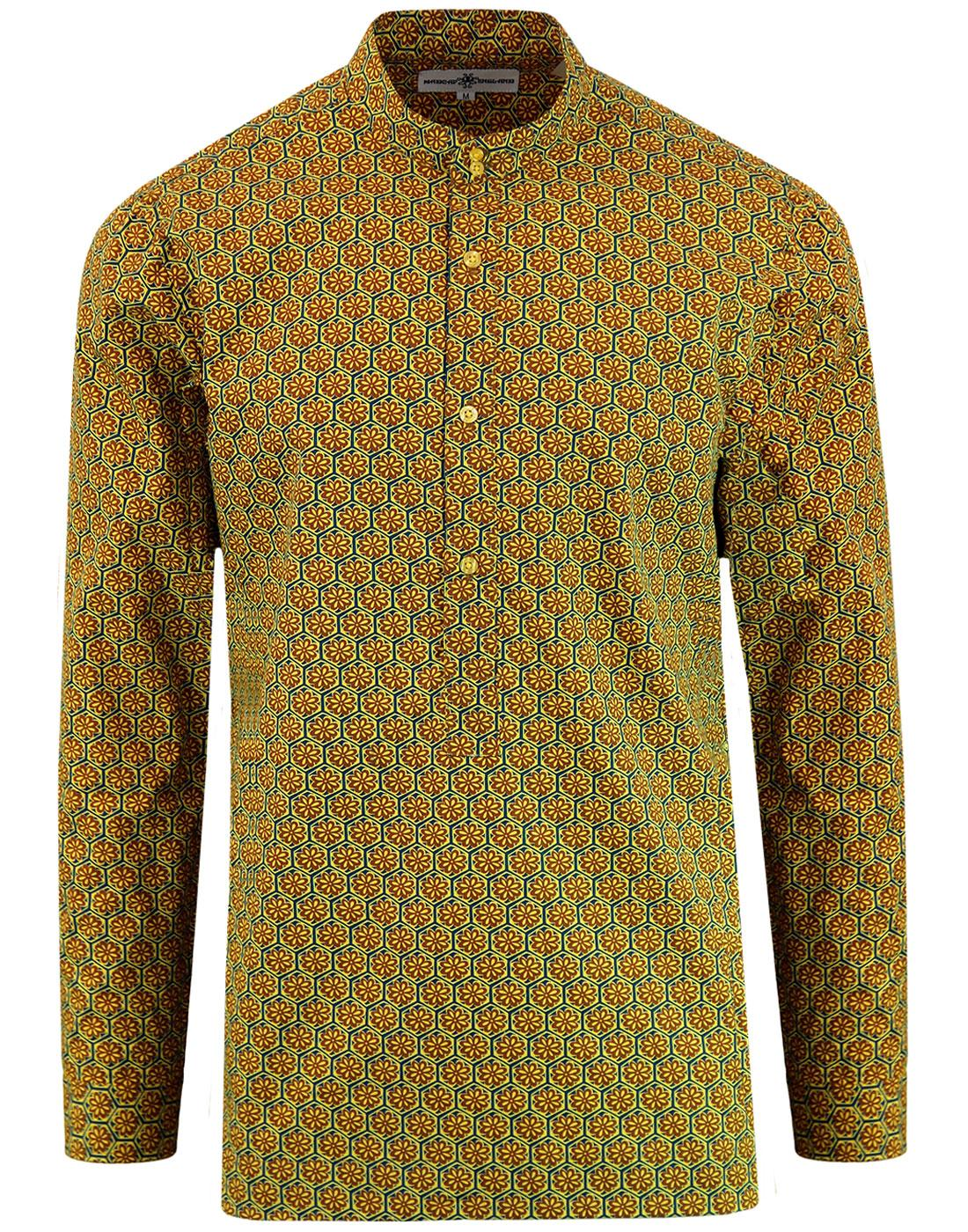 Middle Earth MADCAP ENGLAND 60s Mod Kaftan Shirt