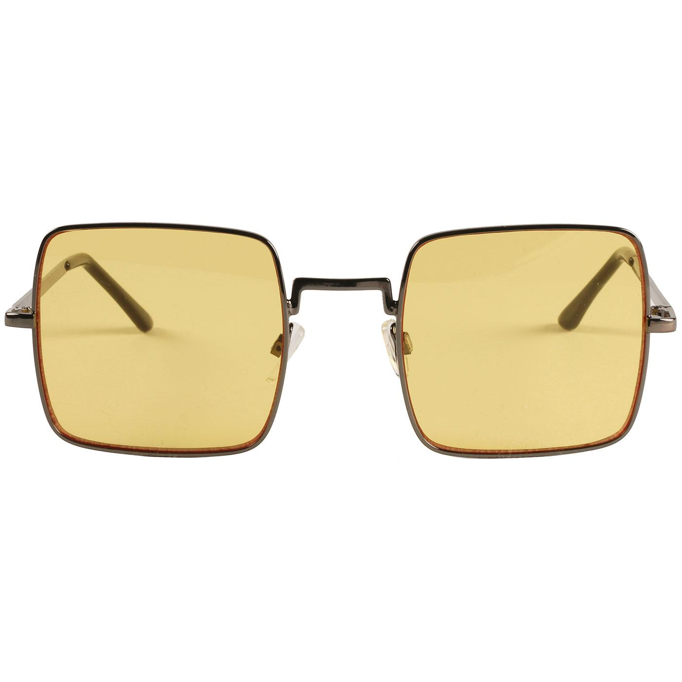 Harrison MADCAP ENGLAND 60s Square Sunglasses (Y)