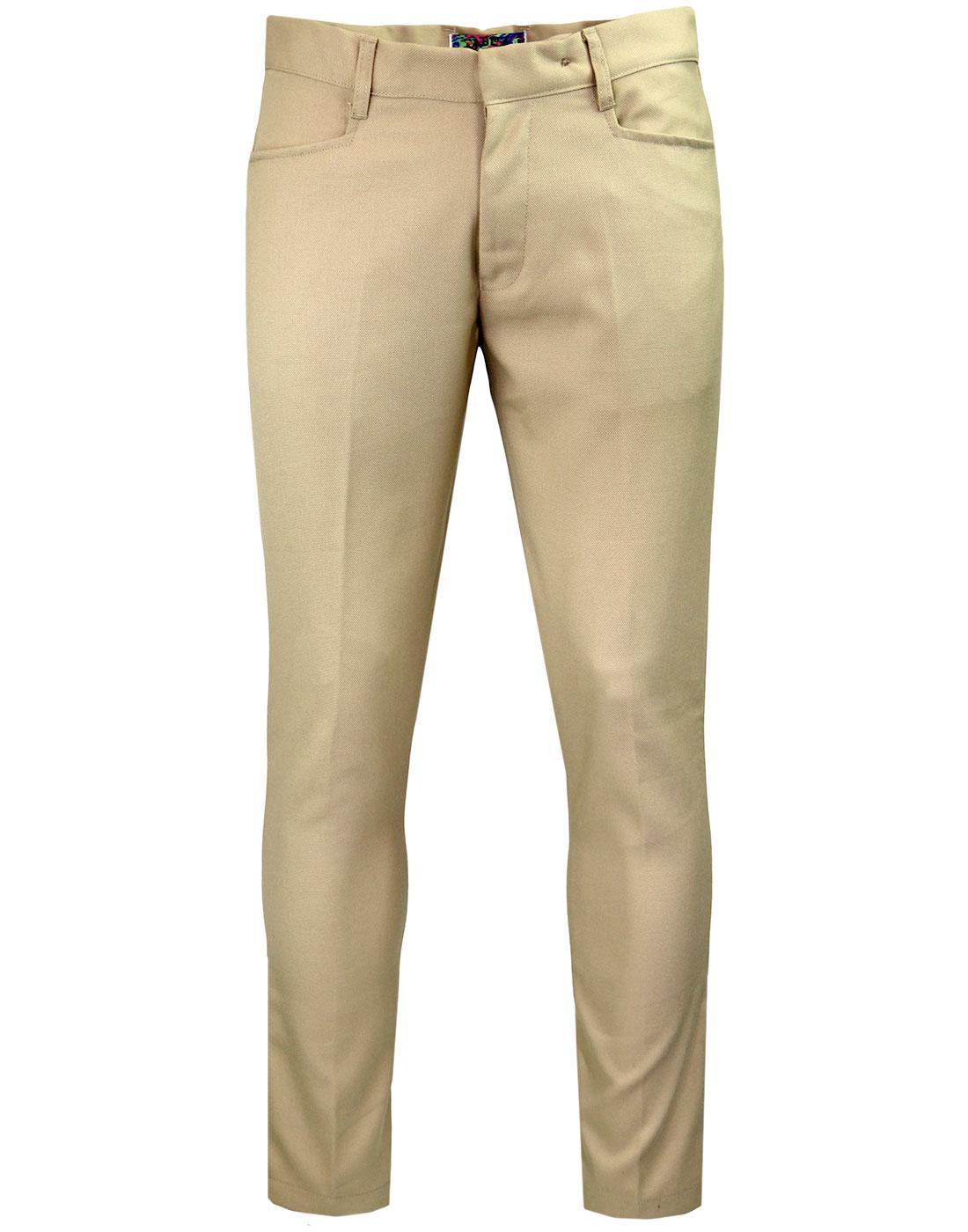 Logan Slim MADCAP ENGLAND Hopsack Trousers STONE