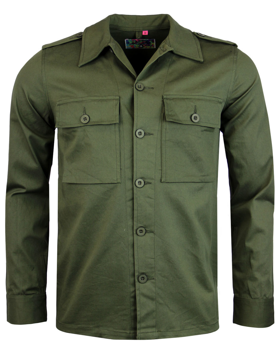 madcap england mod lennon military jacket olive