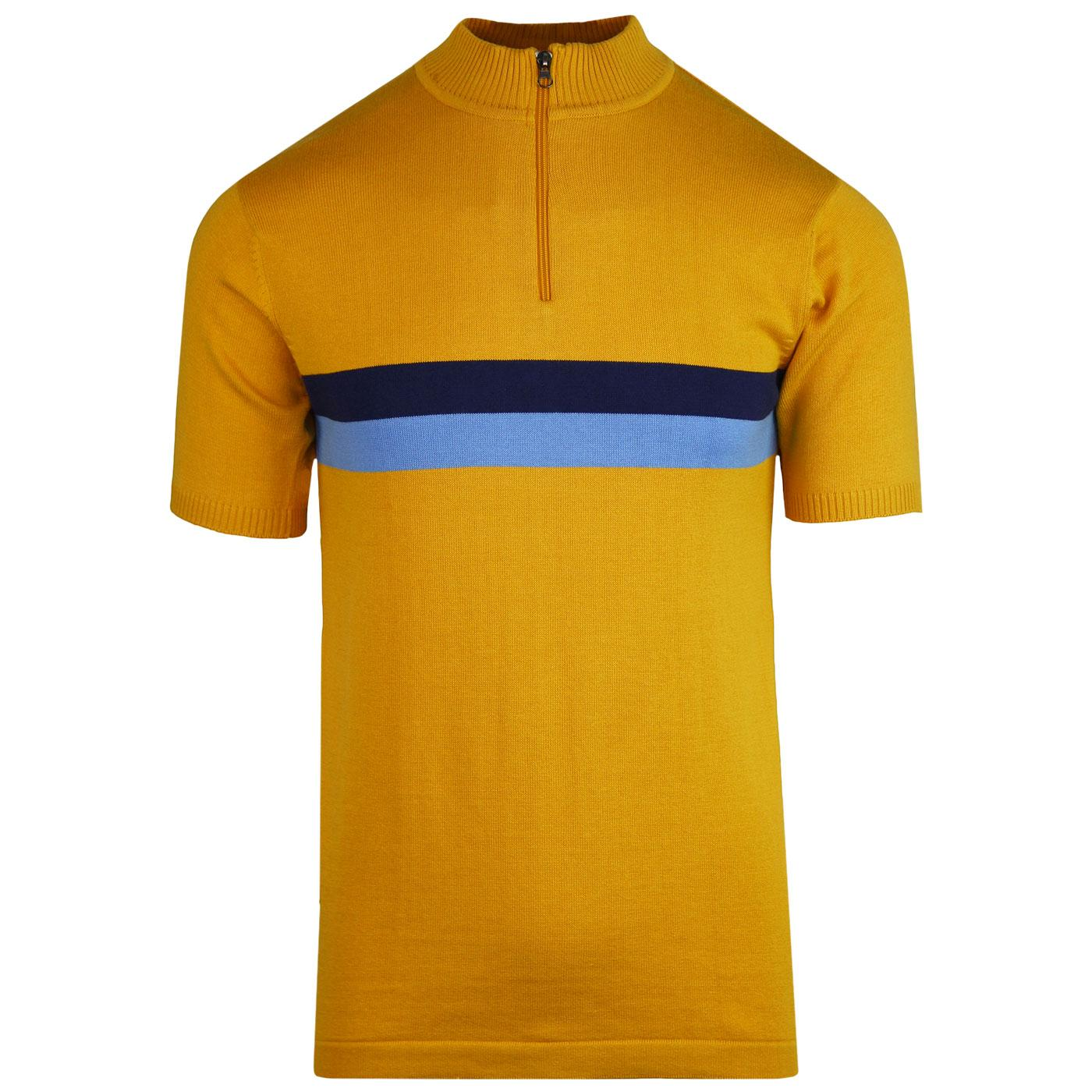 Lynex MADCAP ENGLAND Mod Chest Stripe Cycling Top