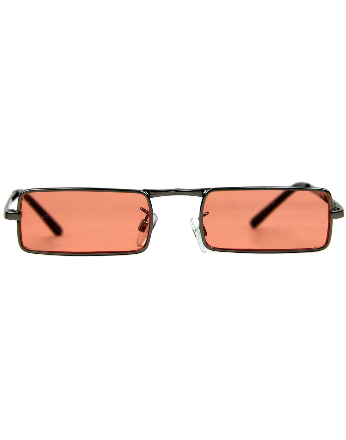 McGuinn MADCAP ENGLAND 1960s Granny Glasses ORANGE