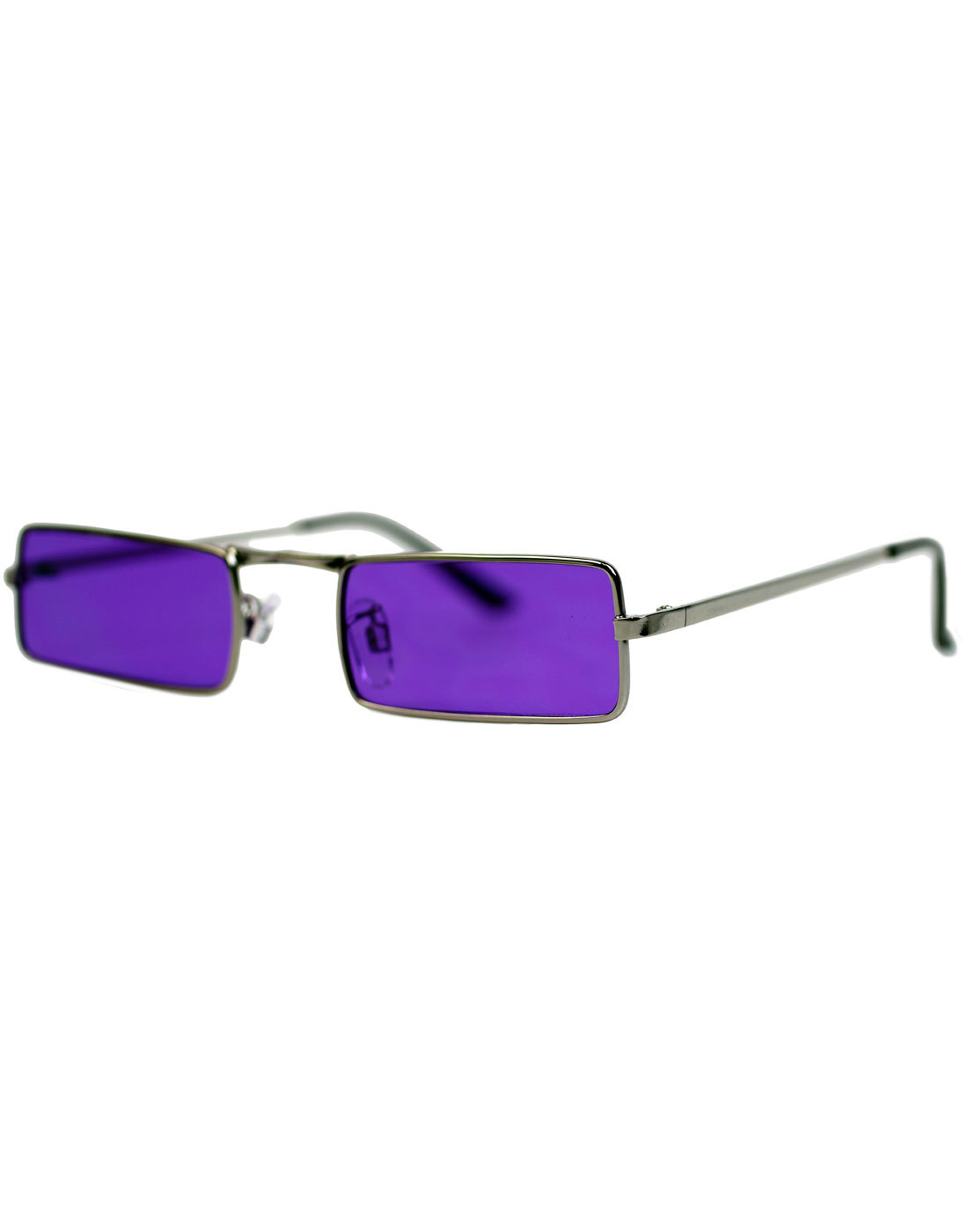 505d3b0e10 MADCAP ENGLAND McGuinn 60s Mod Psychedelic Granny Glasses Purple