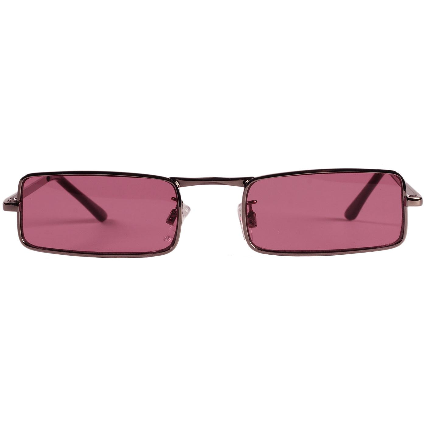 McGuinn MADCAP ENGLAND 1960s Granny Glasses PINK