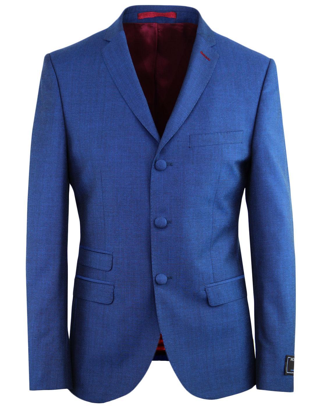 MADCAP ENGLAND Mod Mohair Tonic Blazer BRIGHT BLUE