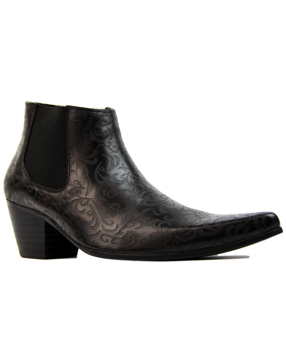 madcap england vinnie paisley cuban chelsea boots