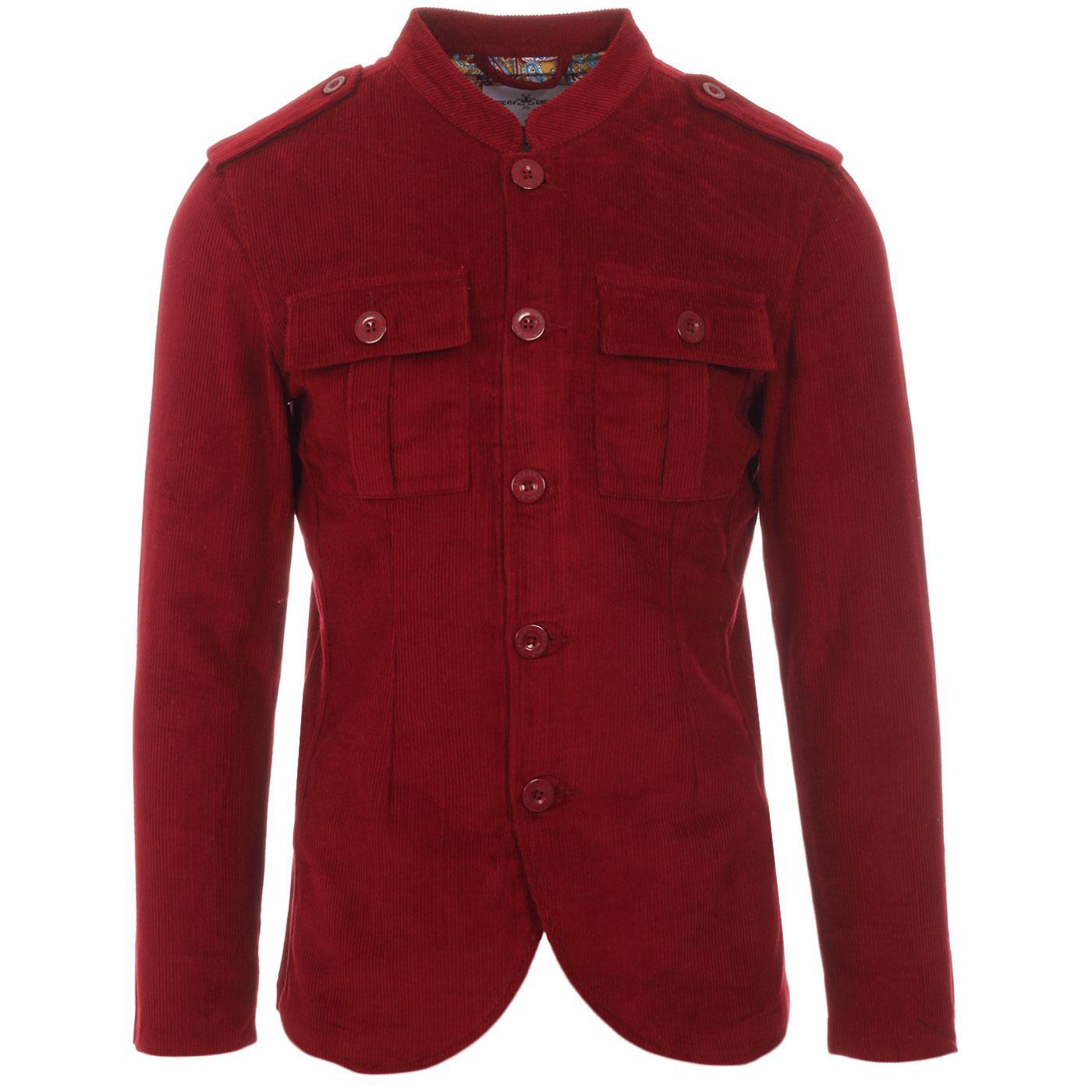Pepper MADCAP ENGLAND Mod Cord Tunic Jacket (TP)