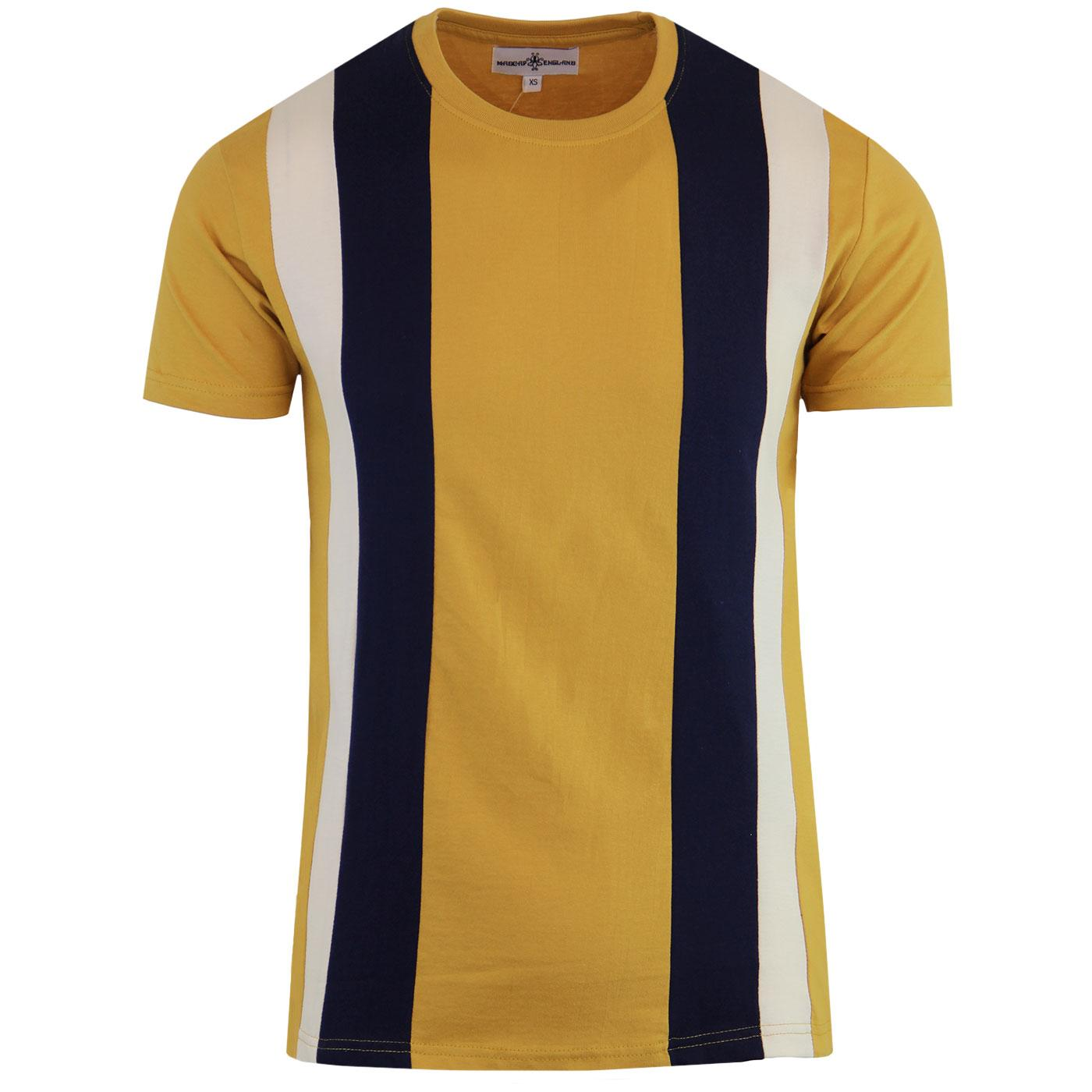 Afterglow MADCAP ENGLAND Mod Stripe Panel Tee (HG)