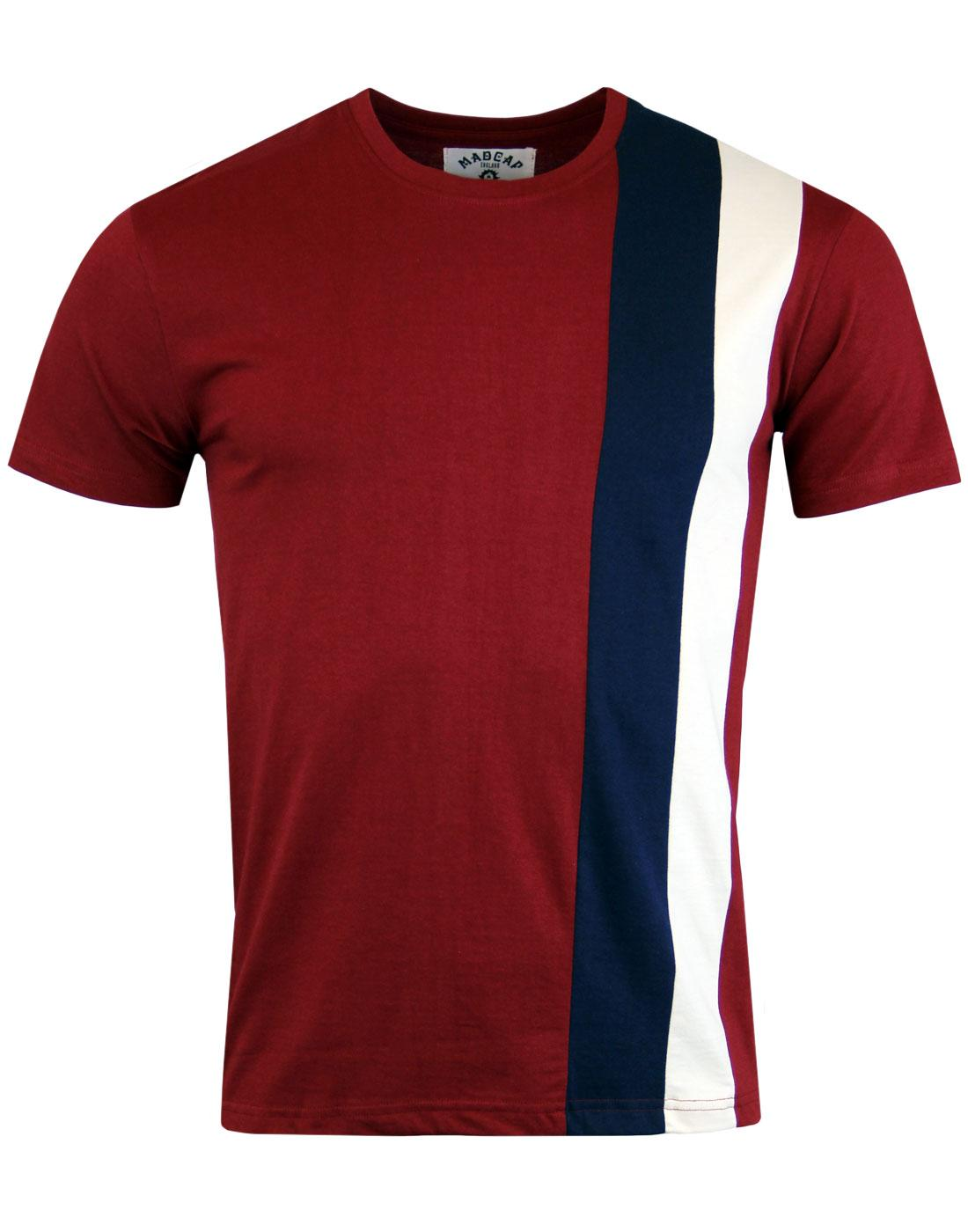 Ogden MADCAP ENGLAND Mod Side Stripe Panel Tee (R)