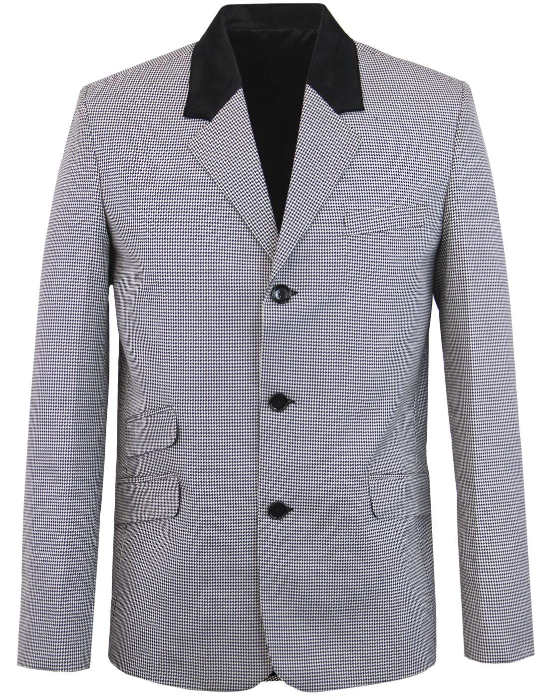 Stoned MADCAP ENGLAND Mod Dogtooth Blazer Jacket