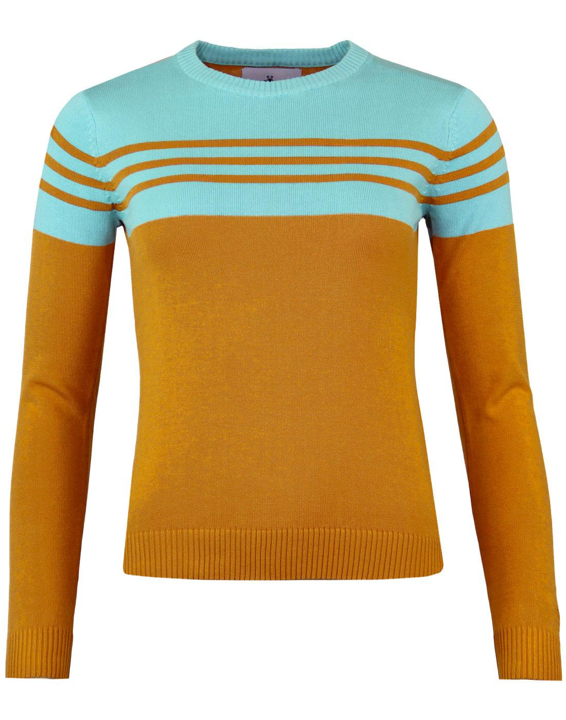 Tammi MADCAP ENGLAND Retro Stripe Panel Jumper GO