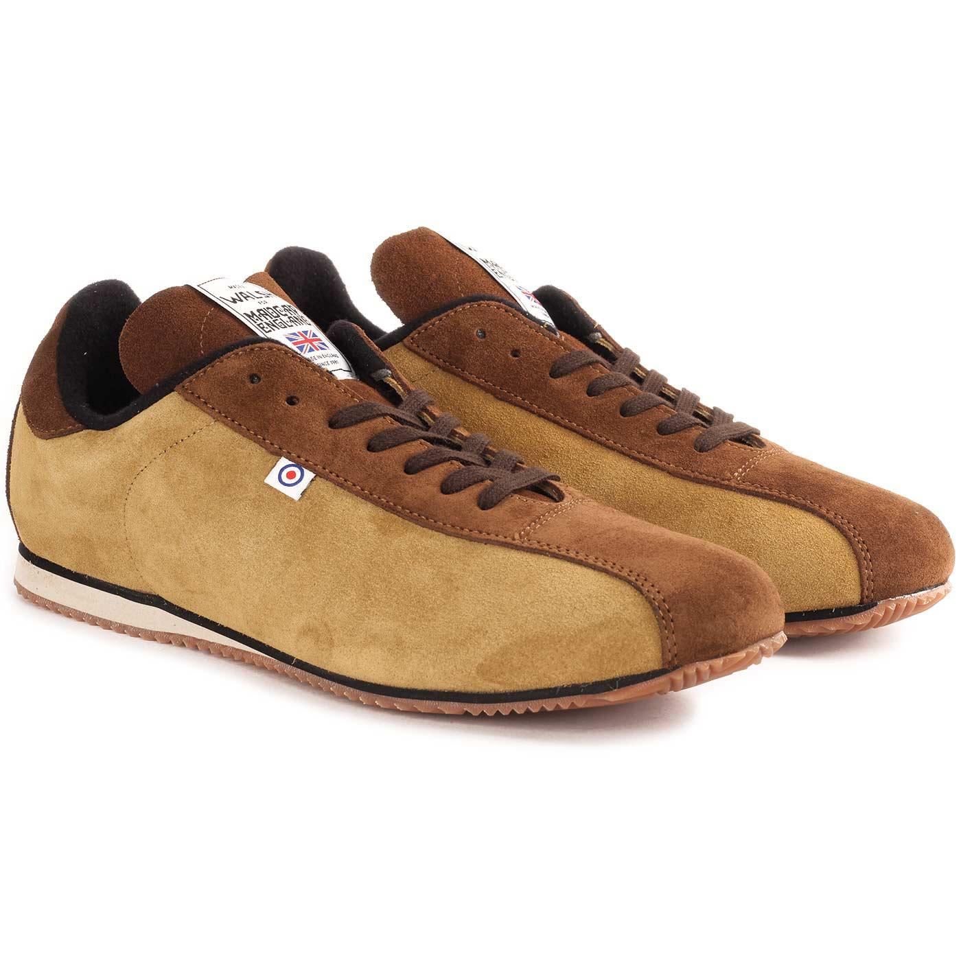 Madcap England x Walsh Oasis Rapier Made in England Retro Bowling Trainers