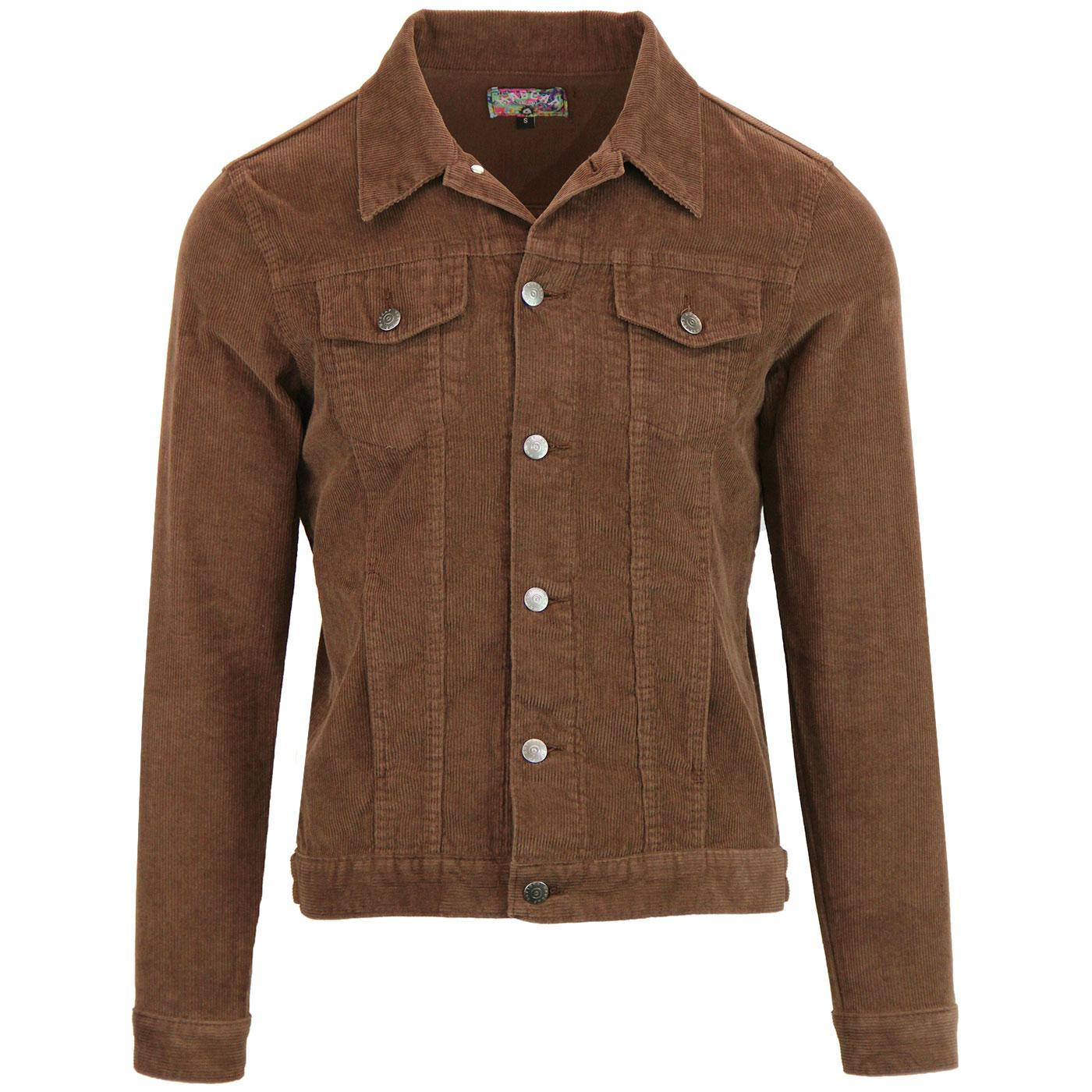 Woburn MADCAP ENGLAND Cord Western Jacket (Cocoa)