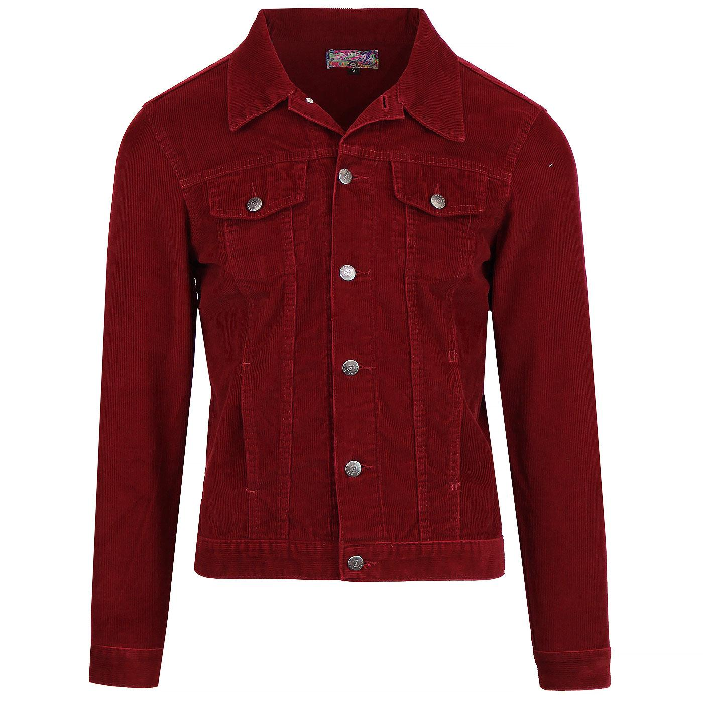 Woburn MADCAP ENGLAND Mod Cord Western Jacket (TP)
