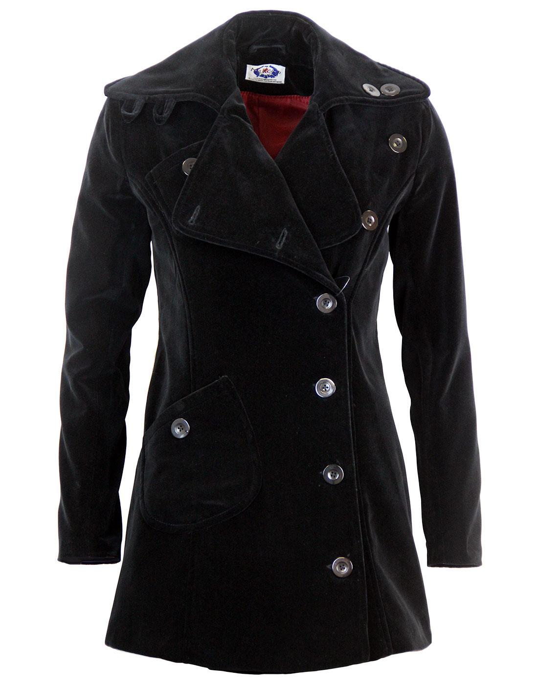 Velvet Grace MADCAP ENGLAND Vintage 60s Style Coat