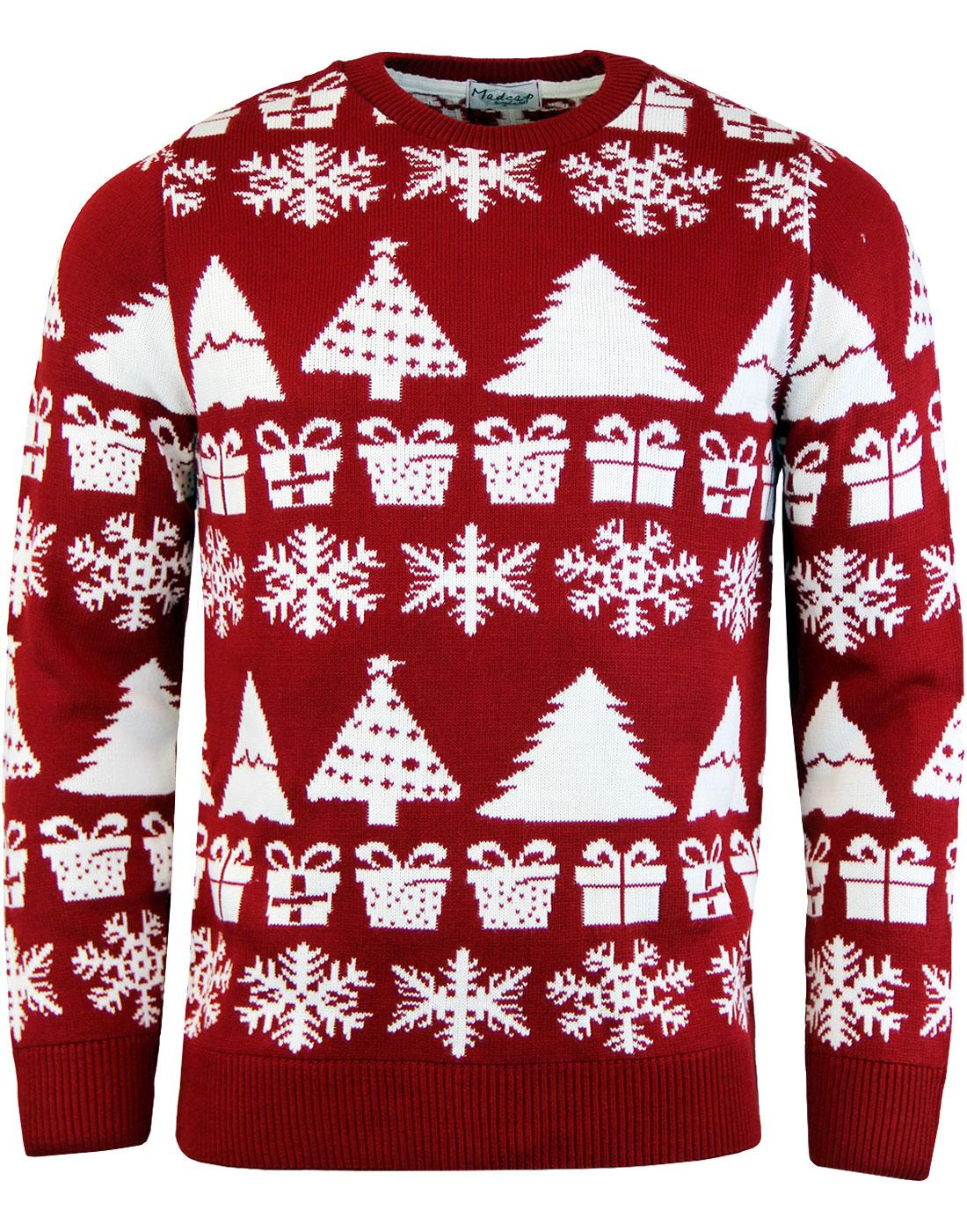 Christmas Jumpers.The Night Before Christmas Jumper Retro Knit Top