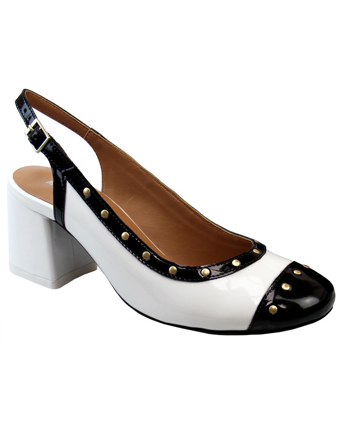 Marisol MADCAP ENGLAND 60s Mod Slingback Heels