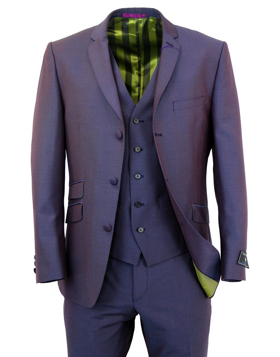 Madcap England Mod 3 Btn Mohair Tonic Suit Jacket