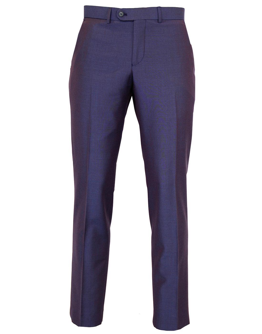 Madcap England 60s Mod Slim Tonic Mohair Trousers