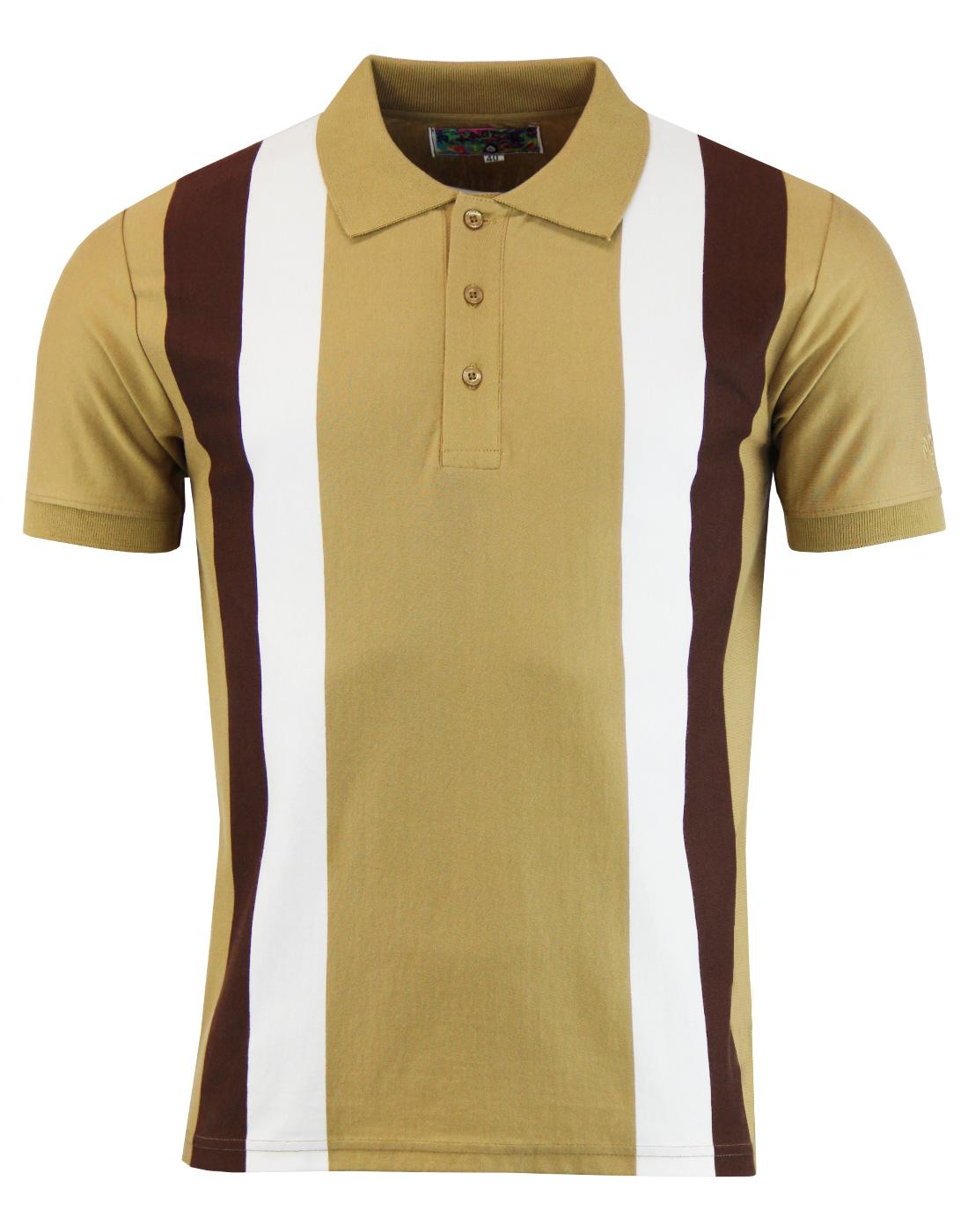 madcap panel polo brown white mod