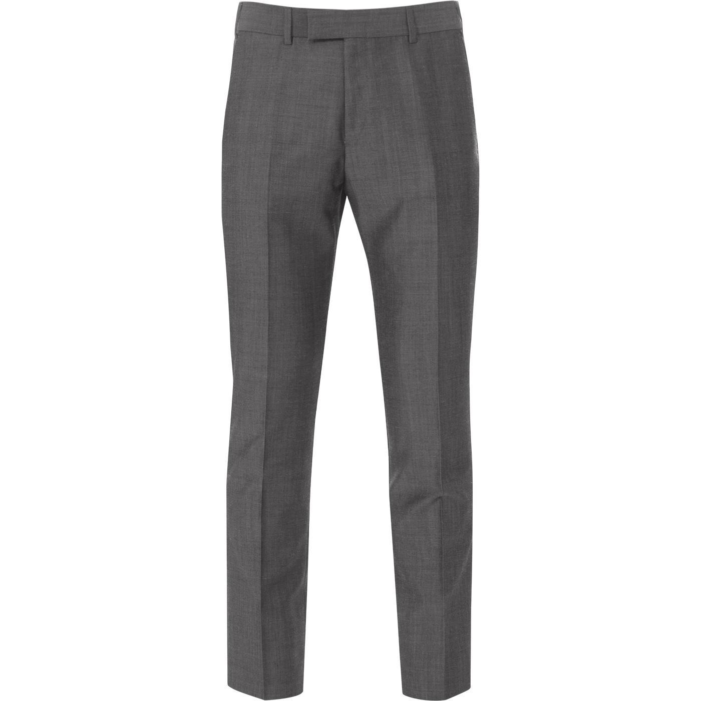 MADCAP ENGLAND Mohair Tonic Suit Trousers (Silver)