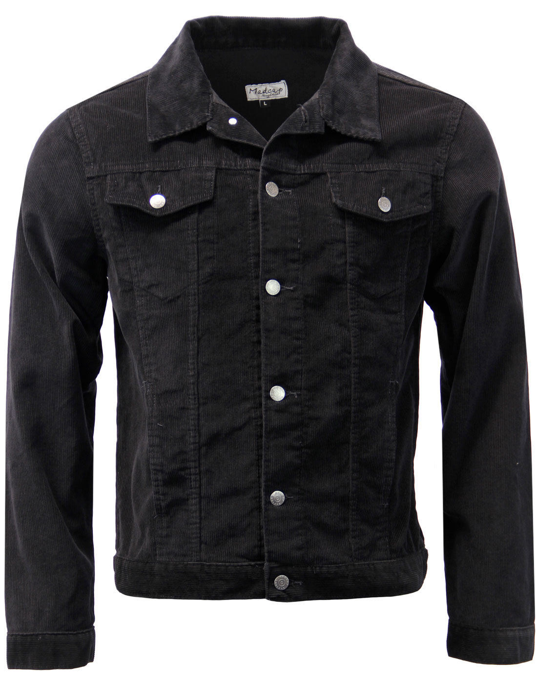 Woburn MADCAP ENGLAND Mod Cord Western Jacket (Bl)