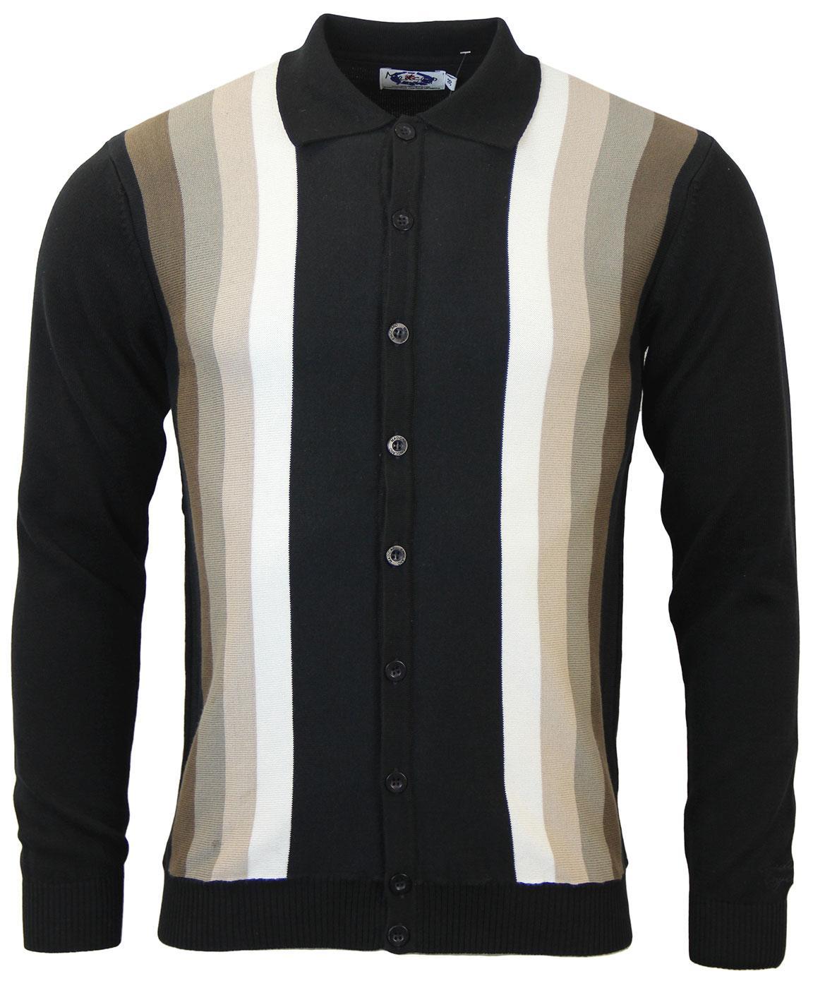 Blake MADCAP ENGLAND Mod Gradient Polo Cardigan BN
