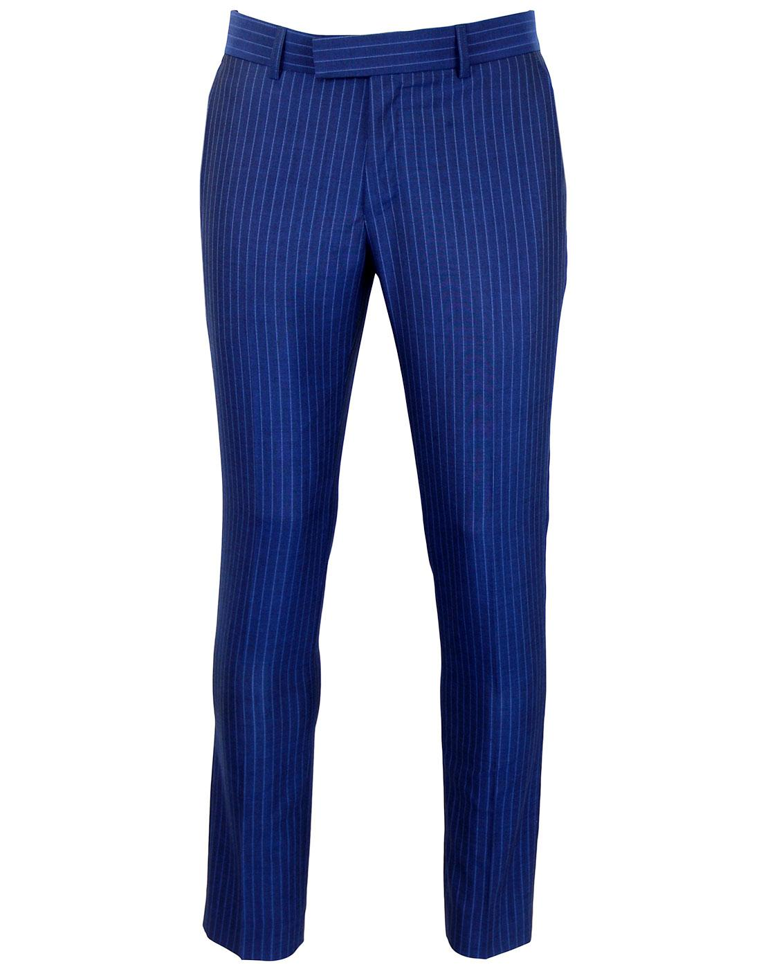 MADCAP ENGLAND Mod Royal Pinstripe Suit Trousers