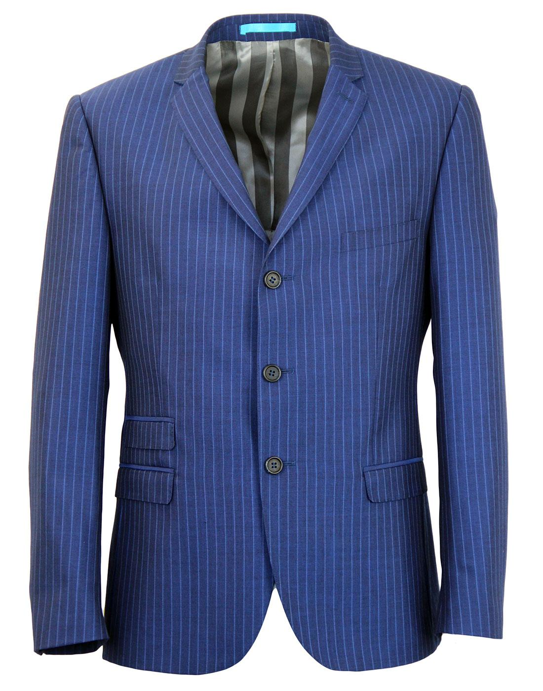MADCAP ENGLAND Royal Pinstripe 3 btn Suit Jacket
