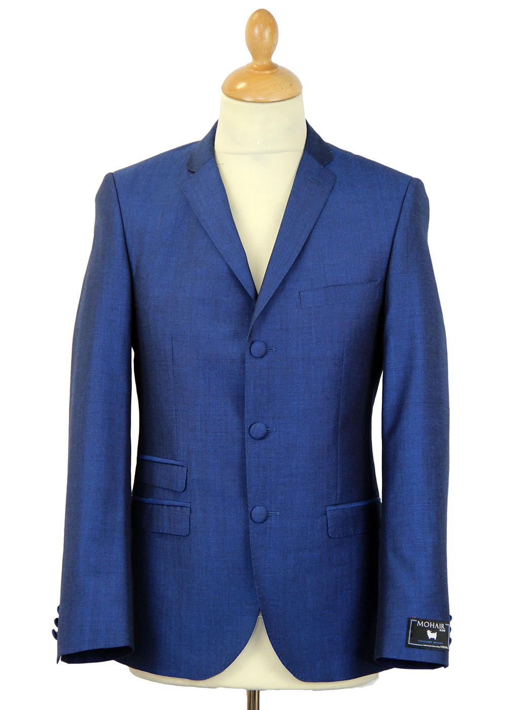 Blue Flame MADCAP Retro Mod Mohair Tonic Suit