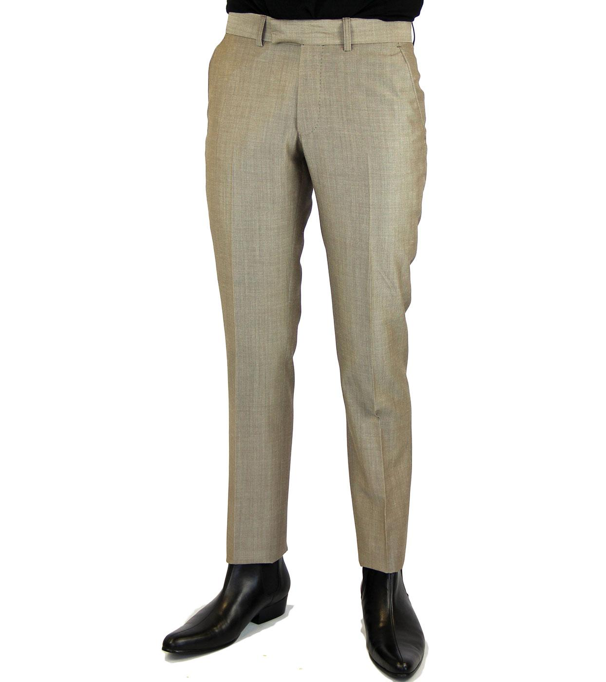 Tailored by Madcap England 60s Mod Mohair Trousers