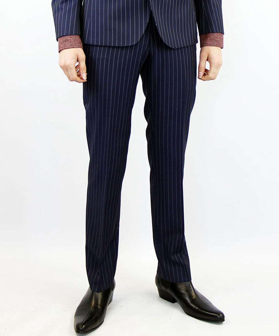 Tailored by Madcap England Pinstripe Suit Trousers