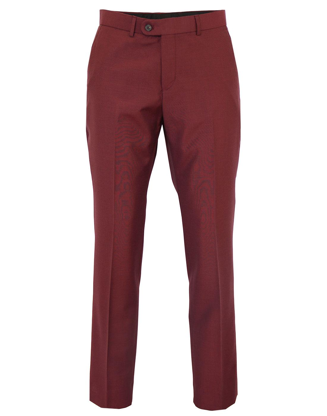Tailored by Madcap England Tonic Mohair Trousers B