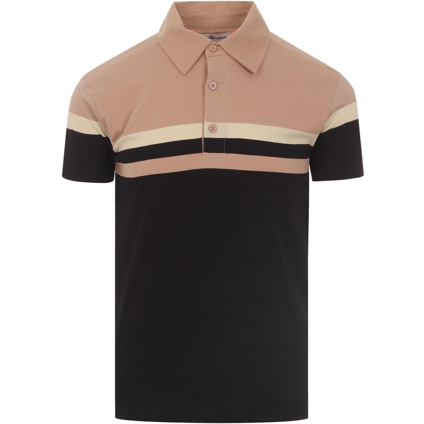 Jimmy The Gent MADCAP ENGLAND Mod Stripe Polo (B)